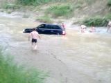 Утопили Range Rover Sport!